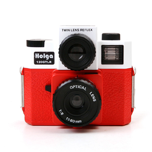 Holga 120 GTLR Red/White
